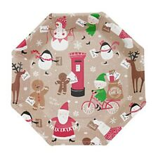 Santa and Friends - Paper Plates - Christmas Tableware