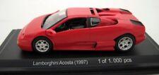 LAMBORGHINI ACOSTA 1997 RED WHITEBOX WB513 1/43 ROSSO ROT ROUGE ITALIE ITALIA