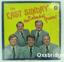 SEALED THE CATHEDRAL QUARTET Last Sunday ORIGINAL 1973 Canaan BLUEGRASS GOSPEL
