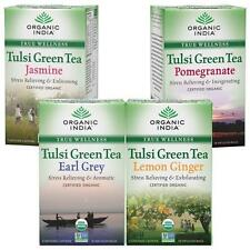 Organic India Tulsi Green Tea and Refereshing Tea Set