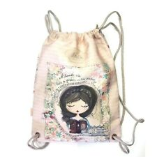 Anekke Jane Drawstring Backpack Ladies Rucksack Bag High Quality UK Stock