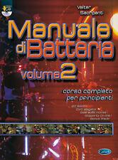 Valter Sacripanti - MANUALE DI BATTERIA Vol. 2 + DVD