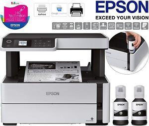 Epson EcoTank ET-M2170 A4 Mono Multifunction Wireless Network Inkjet Printer