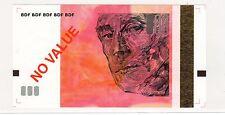 TEST NOTE ECHANTILLON BANQUE DE FRANCE 10 EURO € RAVEL ROUGE ORIGINAL