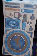 Buckaroo Cowboy Horses Moxxie Stickers