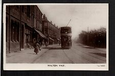 Liverpool - Walton Vale - real photographic postcard