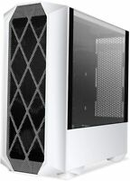 Segotep TYPHON ATX Mid Tower Gaming Computer PC Case W/ Tempered Glass White