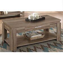 Xanti Dark Taupe Coffee Table 83285 New
