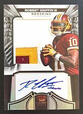 #/149 Robert Griffin III 2012 Crown Royale Prime Auto Jumbo Patch #276 3-color