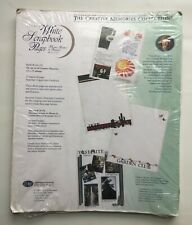 Creative Memories 12X15 White Scrapbook Pages
