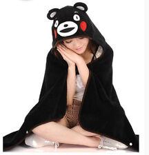Japanese Anime Kumamon Blanket Coral Fleece Cosplay Conditioner Blanket Shawl