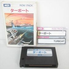 MSX TURBOAT Import Japan Video Game 1952 MSX