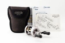 SHIMANO CALCUTTA CONQUEST 51DC Left handed reel USED from Japan #B757