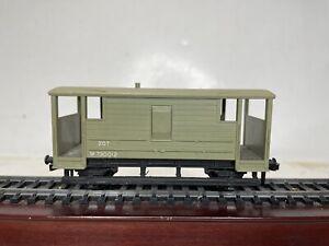 Hornby Dublo OO Ho 2 Rail Scale Model Trains Caboose Boxcar Wagon No 20T Train