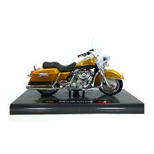 Maisto 39360 HARLEY DAVIDSON 1999 FLHR ROAD KING ORO 1:18 Modello Motocicletta