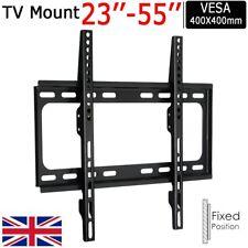 Ultra Slim TV Wall Mount Bracket For Samsung LG Sony Bush 32 40 42 46 47 48 50+