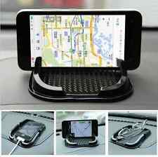 Black Car Dashboard Sticky Pad Anti Slip Mat Gadget Mobile Phone GPS Holder