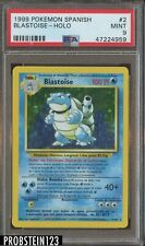 1999 Pokemon Spanish #2 Blastoise - Holo PSA 9 MINT