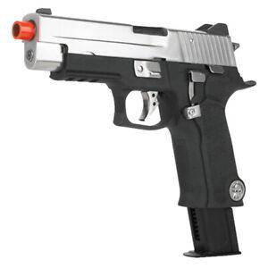 WE Tech Full Metal Biohazard P-VIRUS F226 Tactical GBB Airsoft Pistol WE-F006-PV