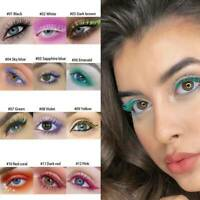 1Pcs Waterproof 4D Silk Fiber Mascara Long Lasting Curling Eyelash Cosplay Color