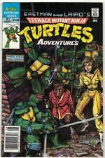 TEENAGE MUTANT NINJA TURTLES ADVENTURES #1 - KEVIN EASTMAN COVER - ARCHIE/1988