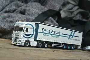 WSI | 01-2738 ENGEL DAF SSC 6x2, Curtain Sider Trailer NEW 1:50 Scale Trucks