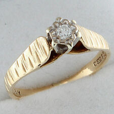 Engagement Multi-Tone Gold Fine Rings without Stones