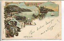 Frankierte Lithographien vor 1914 aus Europa