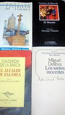 Libros 4 libros diferentes y clasicos!! EL BUSCON-LAZARILLO-LOS SANTOS INOCENTES