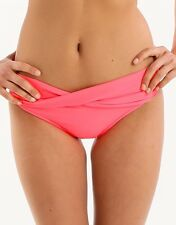 NWT $68   SEAFOLLY  AU 16 /  US 12  RED HOT  RED HOT  TWIST  HIPSTER BOTTOM
