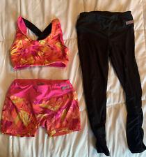 Little Girls Athletic Wear Ser Size 4-5 By Avia (Sports Bra Leggings & Spanx)
