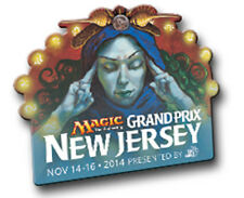 Star City Games Grand Prix New Jersey 2014 Collectible Pin - Brainstorm (MTG)