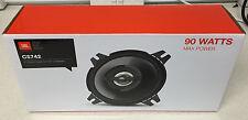 JBL 90W 2-way 4 pouces 10cm Voiture / Van porte / plateau haut-parleurs coaxial noir nouveau paire