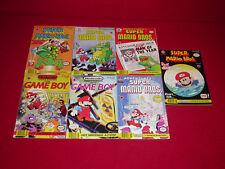 Vtg Lot Nintendo Comics System Super Mario Bros & Game Boy Comics #1,5,6 Valiant
