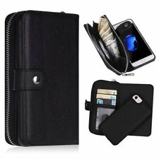 Apple Iphone 5/5S/SE Flip Case Wallet Card Holder Kickstand Leather Premium TPU