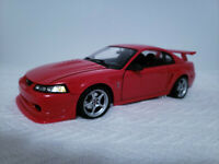 1:18 Scale Maisto 2000 Ford SVT Mustang Cobra R Red Diecast Car Limited