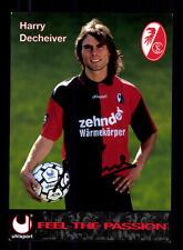 Harry Decheiver Autogrammkarte SC Freiburg 1996/97 Original Signiert +94635