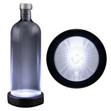 White LED Switch Activated  Bottle Base Light Display Drink Coaster
