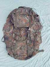 Original BW Bundeswehr Rucksack, Kampfrucksack flecktarn