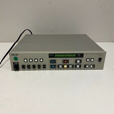 Sony SVRM-911 Serial Remote Control Unit TESTED AND WORKING