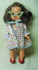 1955 NANCY ANN MUFFIE STRAIGHT LEG WALKER DOLL SWIMSUIT OUTFIT