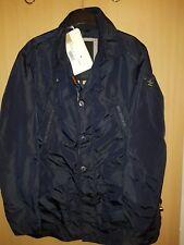 Neu Herren Wind Jacke Größe XL Farbe Blau   von Dekker Neupreis  289€