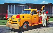 "Delaware Bridge Chevrolet Tow Truck ""Always Ready"" Postcard"