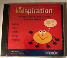 Kidspiration 2.0 Pc Mac Cd map out childrens ideas visually drawing! Grades K-5