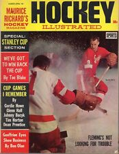 1963 (Mar.-Apr.) Hockey Illustrated Magazine, Gordie Howe, Detroit Redwings ~ VG