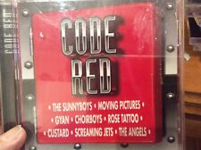 CODE RED  COCA-COLA  PROMO CD Rose Tattoo ANGELS CHOIRBOYS GYAN SUNNYBOYS ETC