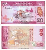 Sri Lanka 20 Rupees 2010  P-123r Replacement Banknotes UNC