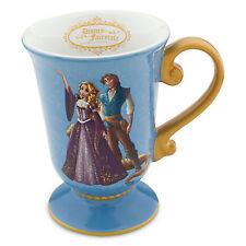 DISNEY DESIGNER FAIRYTALE COUPLE RAPUNZEL & FLYNN Coffee Tea MUG New TANGLED