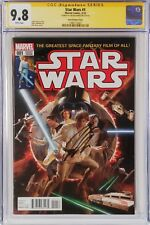 Star Wars 1 1:50 Alex Ross Variant CGC 9.8 Signature Series Jason Aaron Marvel