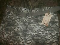 5ive Jungle & Co. Cargo Shorts w/Belt size 54 City Camo Gray (B192)
